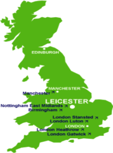 Leicester Location graphic